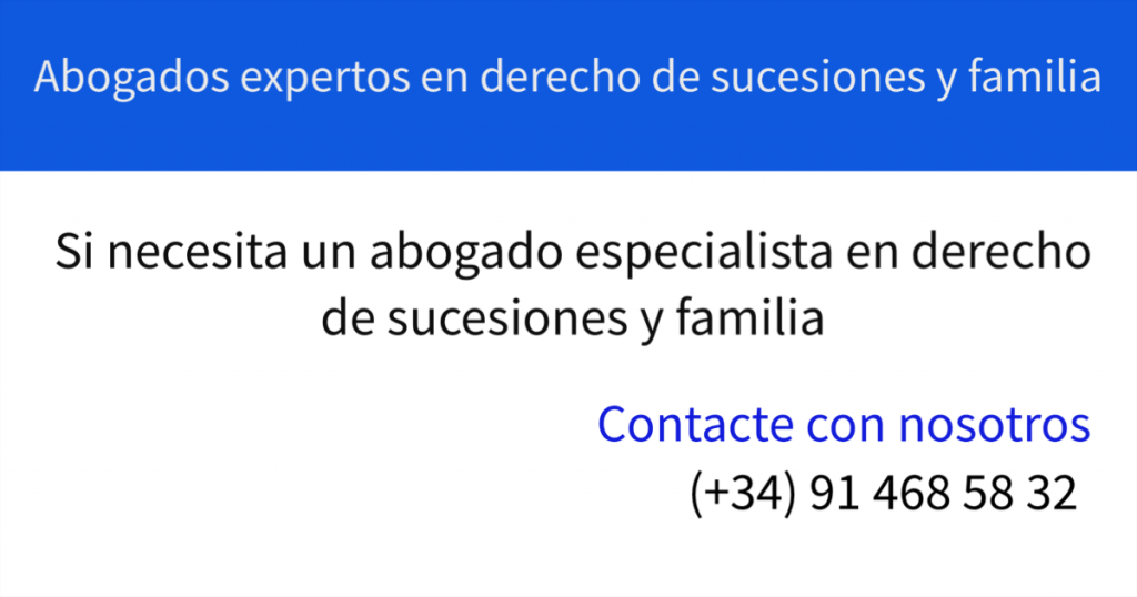 Abogados especialistas en derecho de sucesiones
